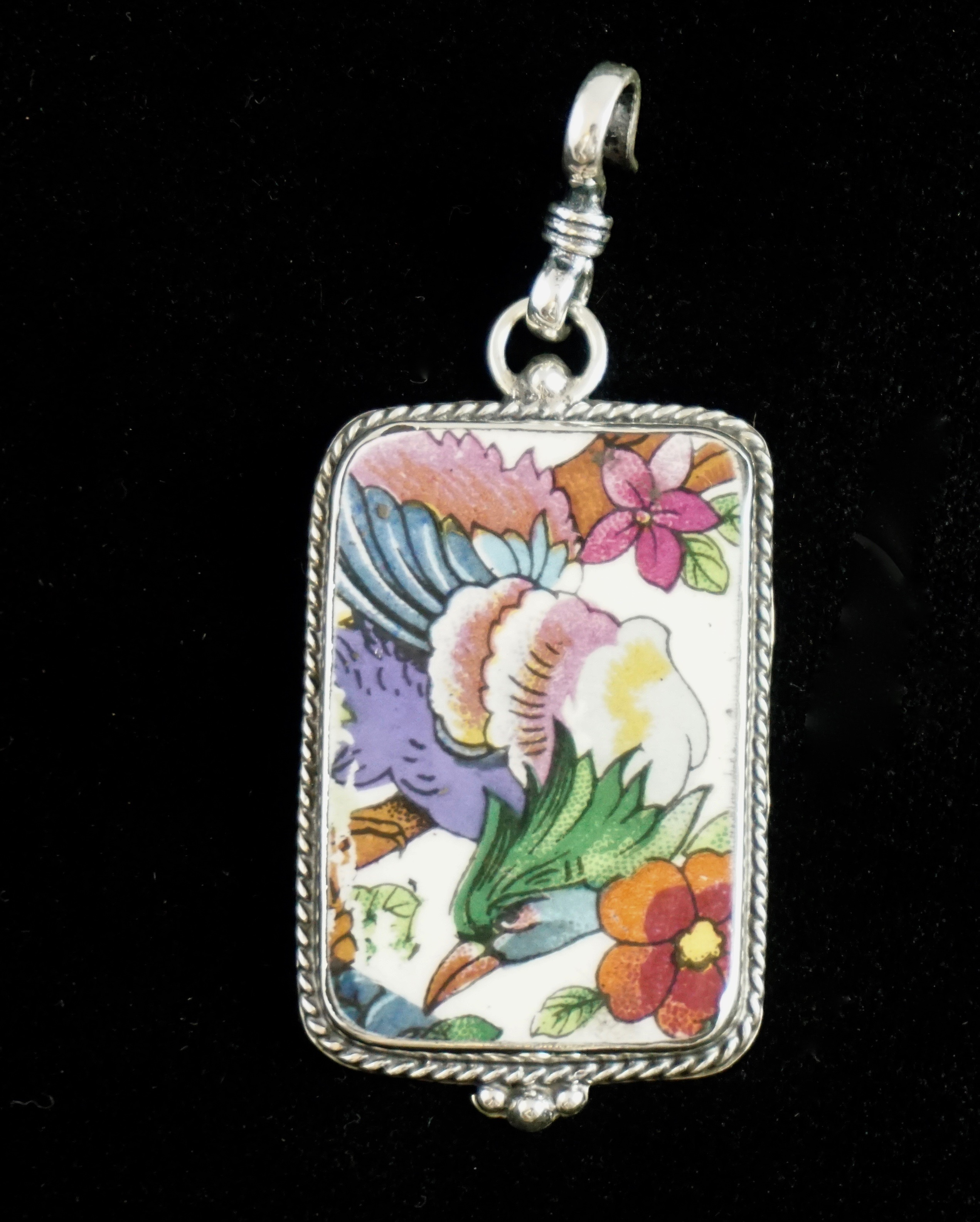 Bird of paradise pendant sold aloadofball